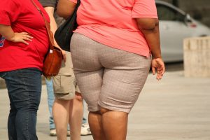 Fat Woman on the Street